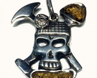Miners Skull Pendant