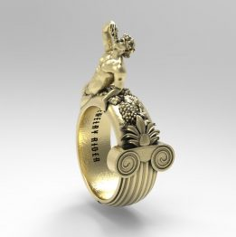 God Dionysus ring