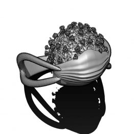 Covid-19 Mask ring