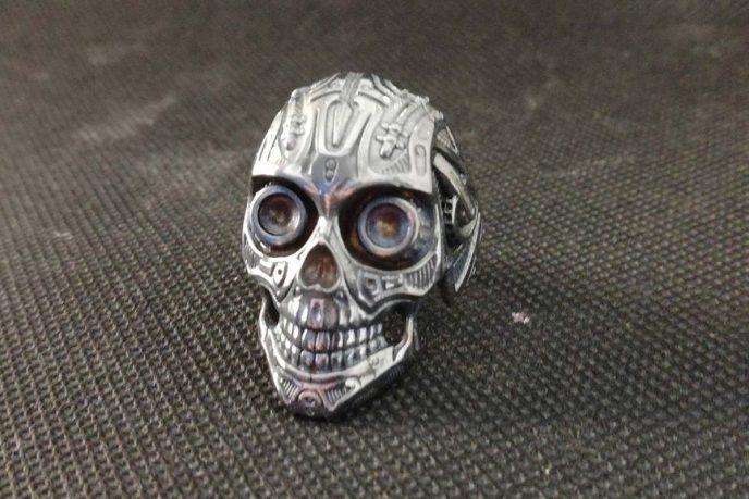Bikers Skull ring