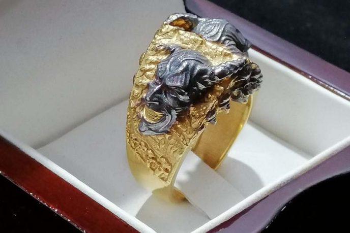 Demons Skulls Ring
