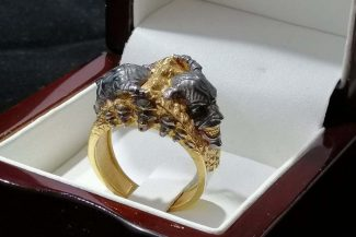 Demons Skulls Ring