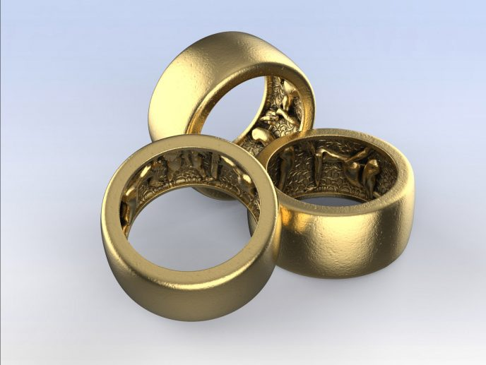 Secret swinging orgy threesome ring